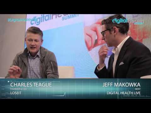 Charles Teague Interview @ Digital Health Summit Studio CES 2016