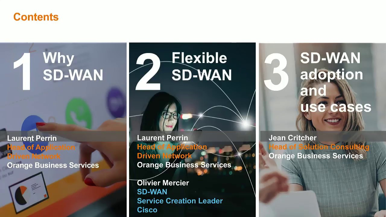 Orange and Cisco Viptela – 6 steps to successful SD-WAN
