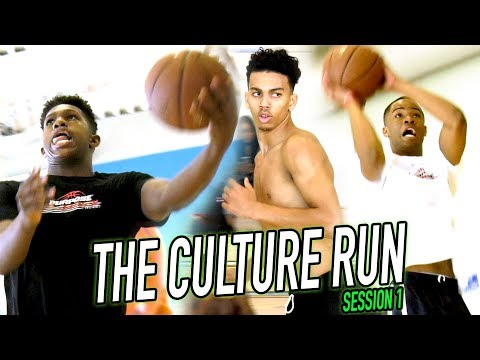 THE CULTURE RUN: Cassius Stanley & D1 Athletes Train For College & NBA Basketball! (SESSION 1)