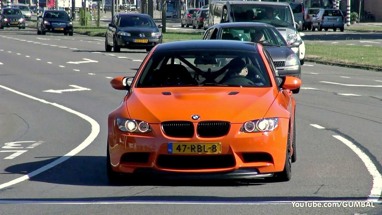 Bmw M3 Gts W Akrapovic Exhaust System Youtube