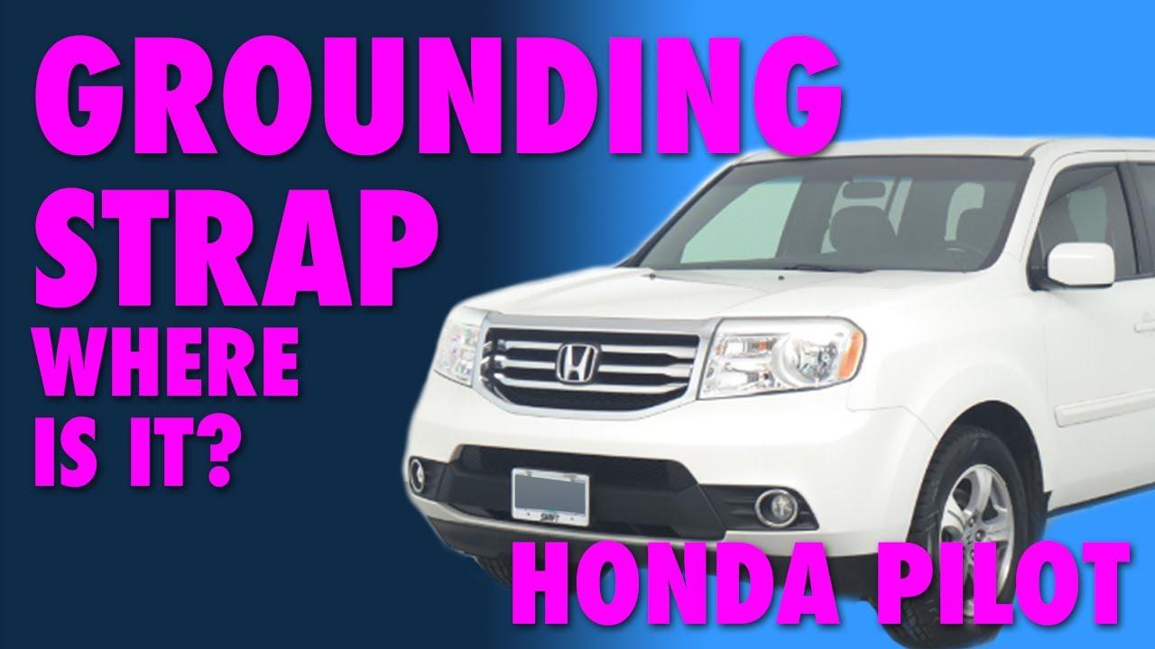 Honda Pilot Grounding Strap  YouTube