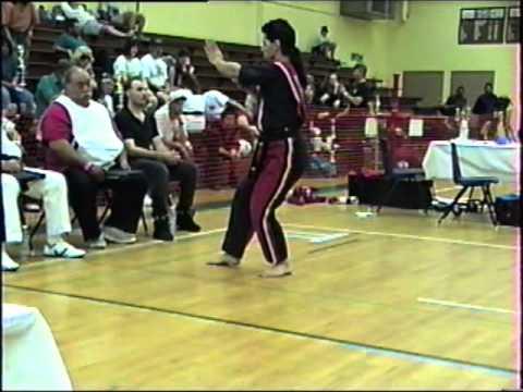 Guy Bracali's student blackbelt Robert Alcorn 1992