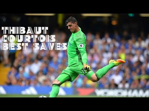 Thibaut Courtois Best Saves 2016/17