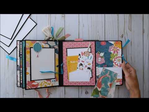 Simple Mini Album   Photo Play - Paper Crane