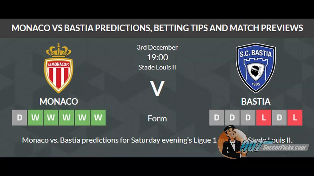 Bastia vs monaco betting expert nba socceroos coach bettingadvice