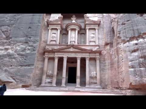 PETRA, JORDAN. EARLY MORNING WALK