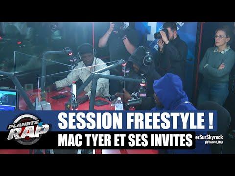 Youtube: Mac Tyer – GROSSE session FREESTYLE avec Dinos, Uzi, Momsii et 2G! #PlanèteRap