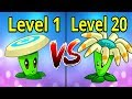 Plants vs Zombies 2 Bloomerang MAX LEVEL vs Level 1 Gameplay Plantas contra Zombies
