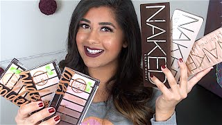 DUPE ALERT! Covergirl TruNaked Eyeshadow Palettes: Review + Swatches