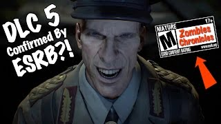 ESRB CONFIRMS ZOMBIES CHRONICLES IN BLACK OPS 3?! NEW DLC 5 EVIDENCE + POTENTIAL REVEAL! #HYPE