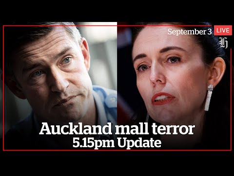 Full press conference: Supermarket terror attack in Auckland