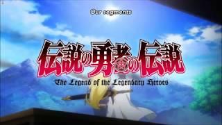 The End of the anime - Densetsu No Yuusha No Densetsu