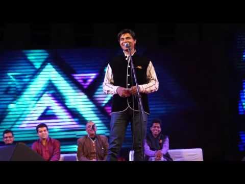Kavi Sammelan at IIT Indore on Fluxus inaugural night 2016