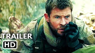 12 STRΟNG Official Trailer # 2 (2018) Chris Hemsworth, Action Movie HD