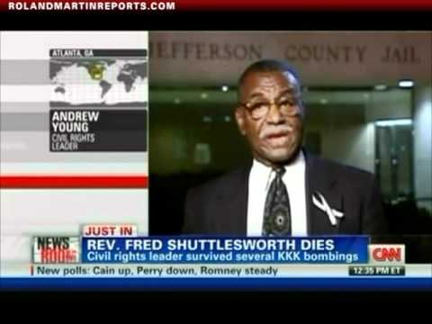 Andrew Young On The Passing Of Civil Rights Icon Fred Shuttlesworth