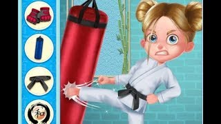 Karate Girl vs School Bully / Tabtale Children Games / Android Gameplay Video #1