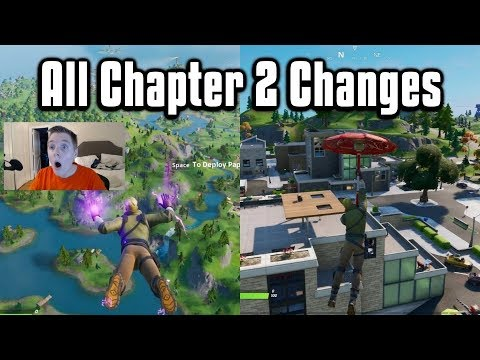 'Fortnite' Update 11.0 Adds Chapter 2 Map, Boats & Weapon Upgrades - Patch Notes