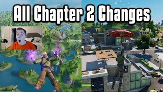 Everything New From Fortnite Chapter 2! - Map, Battle Pass, Weapons & Settings Overview