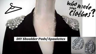 DIY Shoulder Pads/ Epaulettes | Teslime Moda Thumbnail