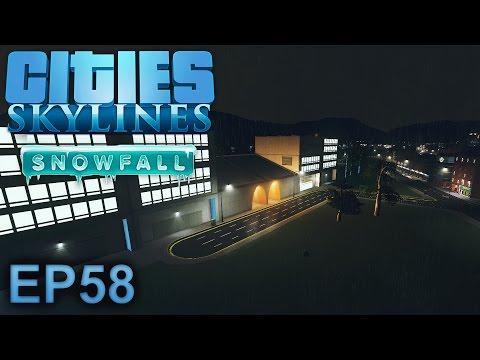 Cities Skylines (Snowfall): City Centre Cargo - Episode 58