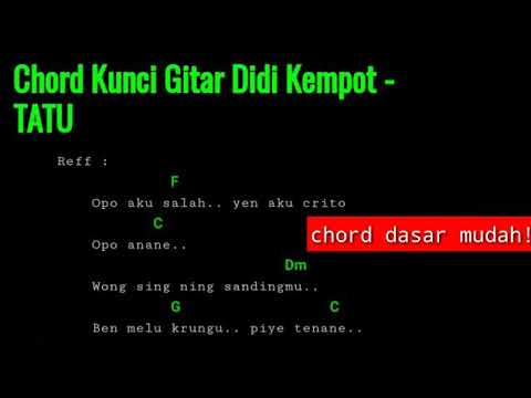 chord-kunci-gitar---didi-kempot---tatu