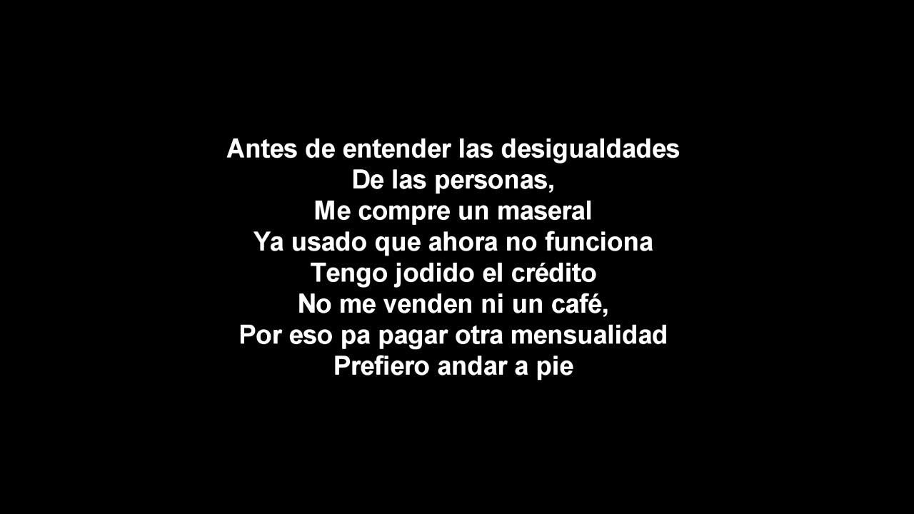 Download Calle 13 - Adentro Letra