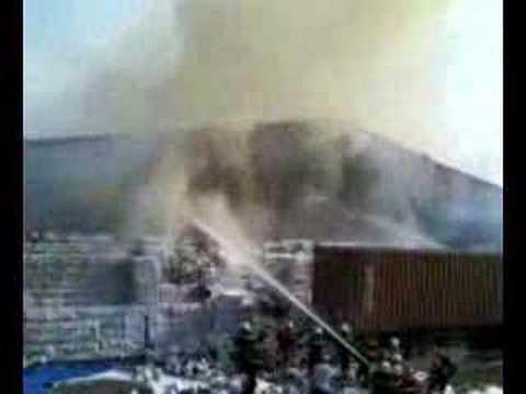 Cháy lớn tại Cty liên doanh ASC 1