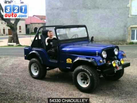 occasion jeep cj7 chaouilley youtube. Black Bedroom Furniture Sets. Home Design Ideas