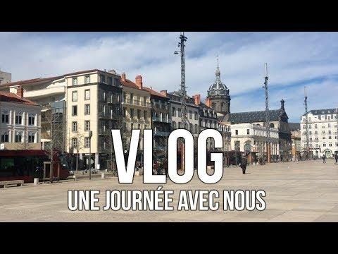 // VLOG une journée banale avec nous // Clermont-Ferrand