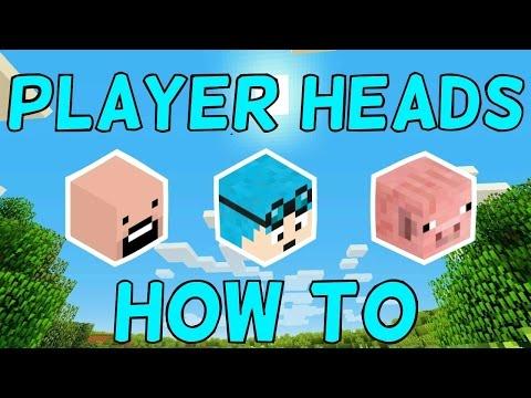 Cool Minecraft Player Heads - Minecraft spielerkopfe befehl
