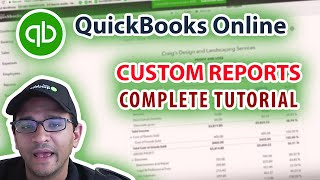 QuickBooks Online 2019 Tutorial: Customizing Reports