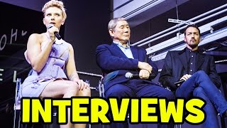 GHOST IN THE SHELL Cast Interview