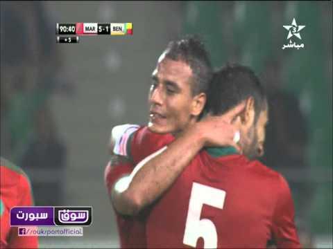 MAROC 6-1 BENIN || Marouane Chamakh