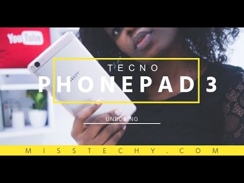 Tecno PhonePad 3 Unboxing & First Impressions.