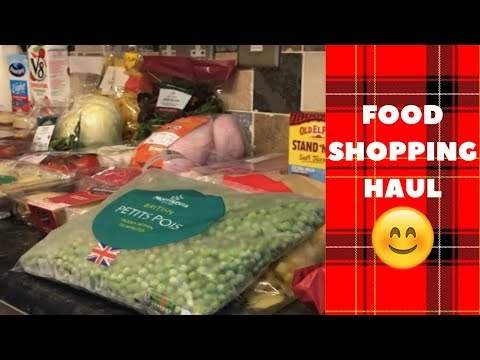 What's Being Bought For Tea This Week? :) Morrisons Grocery Haul 30th May