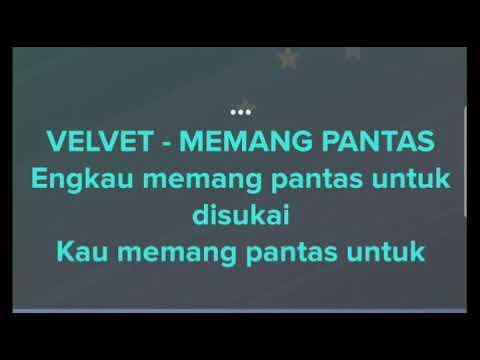 Karaoke Velvet Memang Pantas