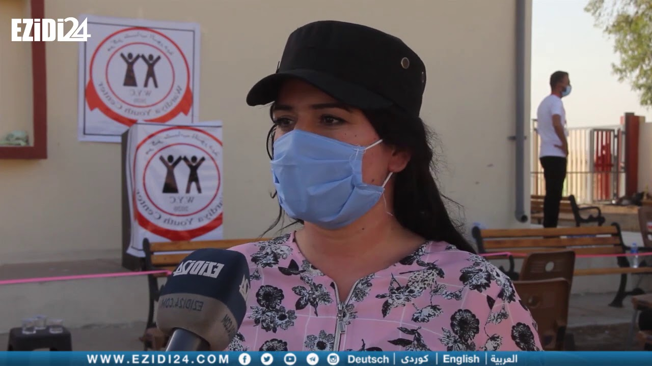 شنكال: شباب قرية الوردية يفتتحون مركزهم لمساعدة الأهالي