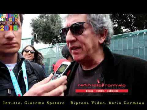 Intervista al Concerto 1 Maggio 2016 Roma -  EUGENIO BENNATO