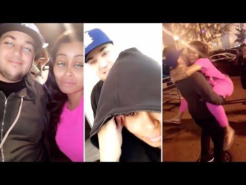 Blac Chyna | Snapchat Videos | August 2016 | ft Rob Kardashian