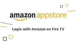 Login with Amazon for Amazon Fire TV Apps
