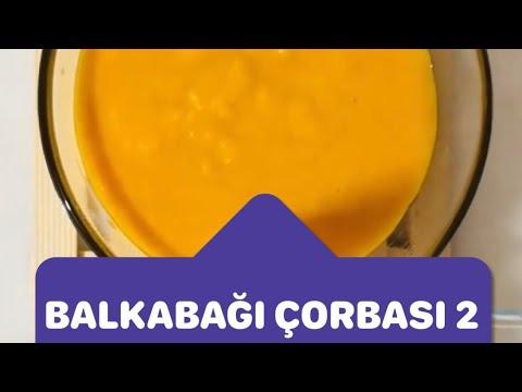 Bebekler İçin Kilo Aldıran A,B,C Vitaminli Mükemmel Balkabaklı Çorba | Nefis Balkabağı Çorbası