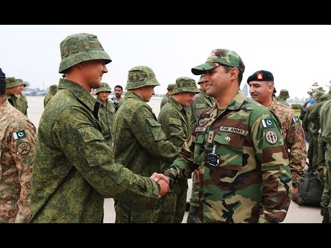 Russian troops arrive Pakistan for joint military drill - Express News 9 PM - 23 September 2016