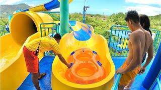 Escape Theme Park in Penang Malaysia (Waterslides & Tubby Racer)