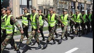 Gəncədə aksiyaya polis müdaxilə etdi