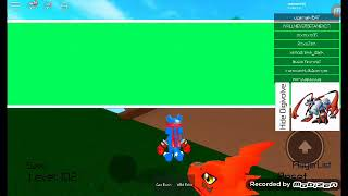 Playing Digimon on ROBLOX