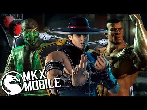 袣袨袦袗袧袛袗 袨袘袧袨袙袥袝袧袠携 1.18 鈥� Mortal Kombat X Mobile