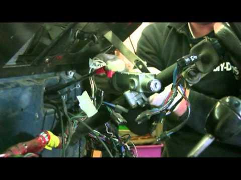 landrover bulkhead brake master pedal box clutch master cylinder steering column etc pt6  YouTube