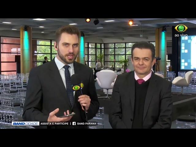 Band Cidade apresentado AO VIVO do VI CBDE - 15/06/2018