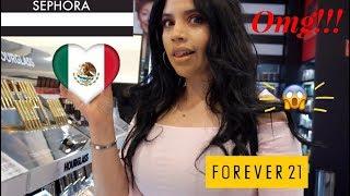 Visiting sephora & forver21 in MEXICO | Sinai Ruelas