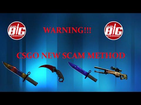CSGO New Scam! CSGOBIG LIVE TRADING